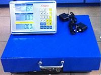Весы торговые ACS 300кг  WIFI 45*55 беспроводные весы, усиленная площадка