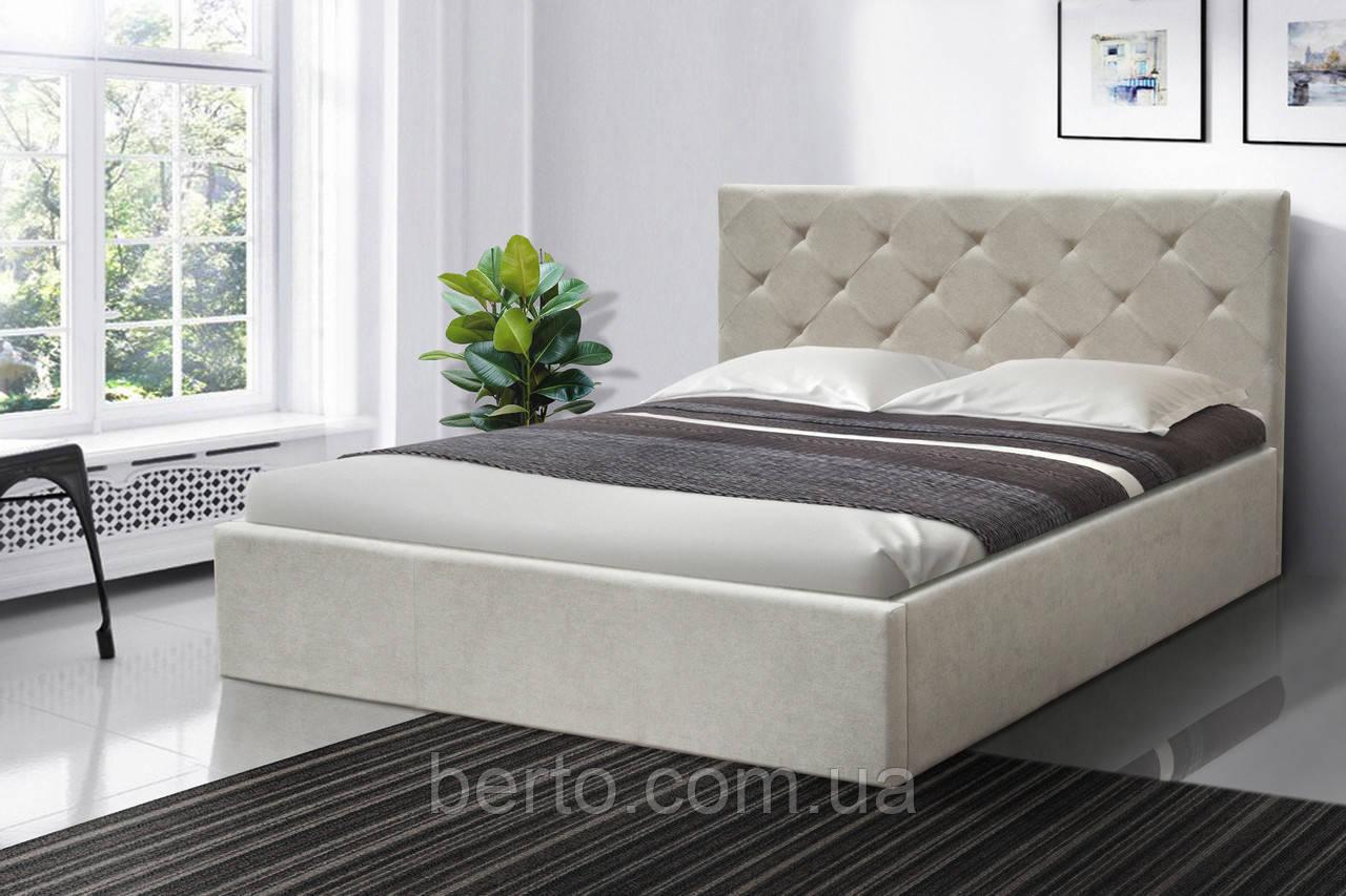 """Мягкая кровать-подиум """"Атланта"""" 1600х2000 мм. ткань"""