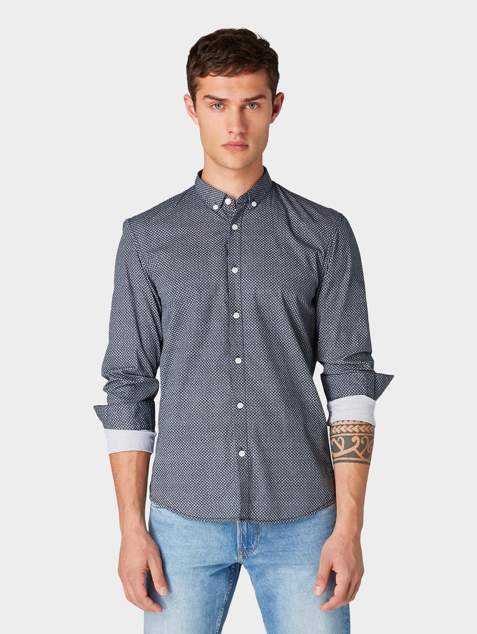 Рубашка Tom Tailor 1014650 XS Синий