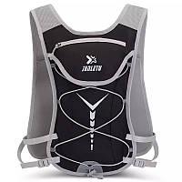 Рюкзак для бега и спорта Junletu черный, фото 1