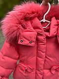 Зимняя куртка для девочки БИО-ПУХ Коралл р. 92, 98, 104, 110, фото 5