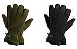 Перчатки плотный флис Тинсулейт Польша - олива, черные., фото 8