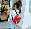 Детский рюкзак красный с динозавром, фото 9