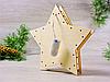 Ночник деревянный Led светильник Звезда «Олени в лесу» (2140), фото 3