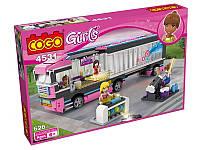 Конструктор для девочек Girls Машина COGO 4531 629 деталей