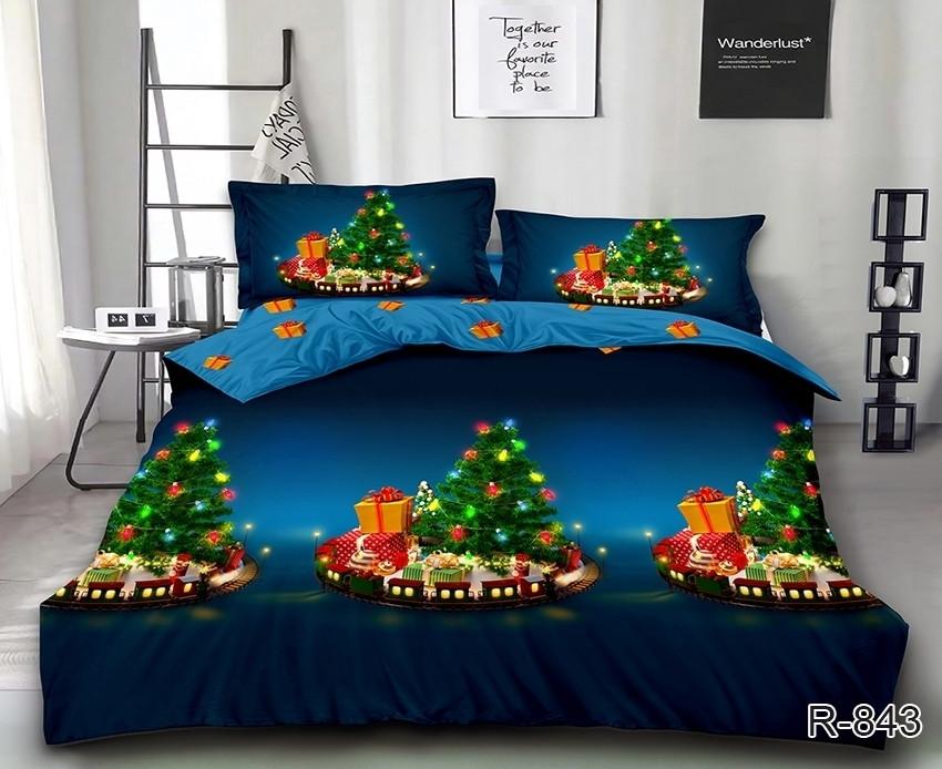 Новогоднее постельное белье Волшебная ночь комплект полуторный