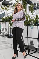 Кофта женская нарядная большие размеры Г0386, фото 1