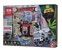 Конструктор Lepin 06053 Ограбление киоска в Ниндзя Сити Ninjago 249 деталей