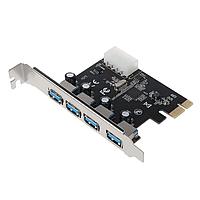 Плата расширения PCI-E к USB 3,0 Концентратор 5 Гбит/с