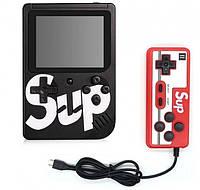 Игровая портативная приставка с джойстиком Retro Game Box Sup dendy 400в1