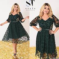 Платье женское нарядное большие размеры Г05394, фото 1