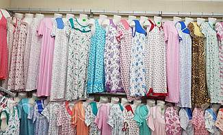 Нічні сорочки жіночі з довгим рукавом 100% бавовна Fazo-r, фото 3