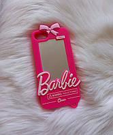 Чехол 3D для iPhone 7 Барби Barbie розовый, фото 1