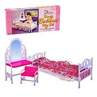 Мебель для кукол Gloria Глория 9314 Спальня