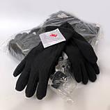 Перчатки плотный флис Тинсулейт Польша - олива, черные., фото 2