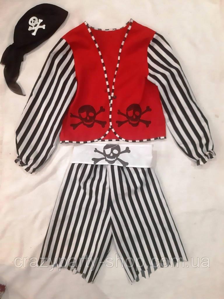 Костюм карнавальный Пират рост 148-152 см см б/у