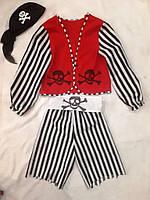 Костюм карнавальний Пірат зростання 148-152 см см б/у