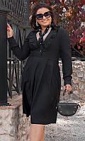 Платье 882111/3 50 чёрный