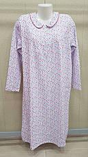 Ночные рубашки женские с длинным  рукавом 100% хлопок Fazo-r, фото 2