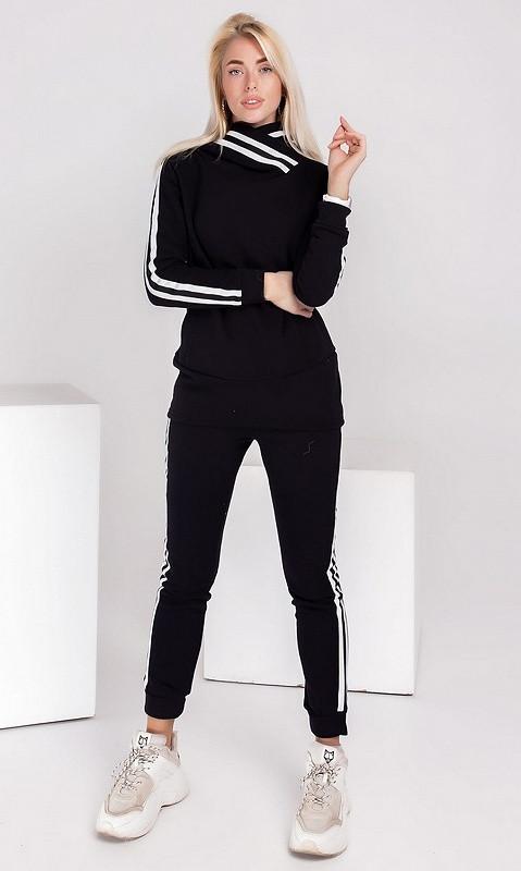 Спортивный костюм 830871/1 50 чёрный