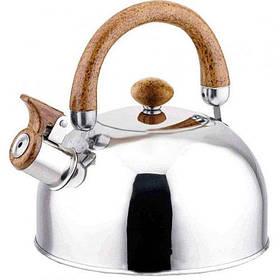 Чайник для плиты MAXMARK MK-1312 (нерж., 2.5 л.)