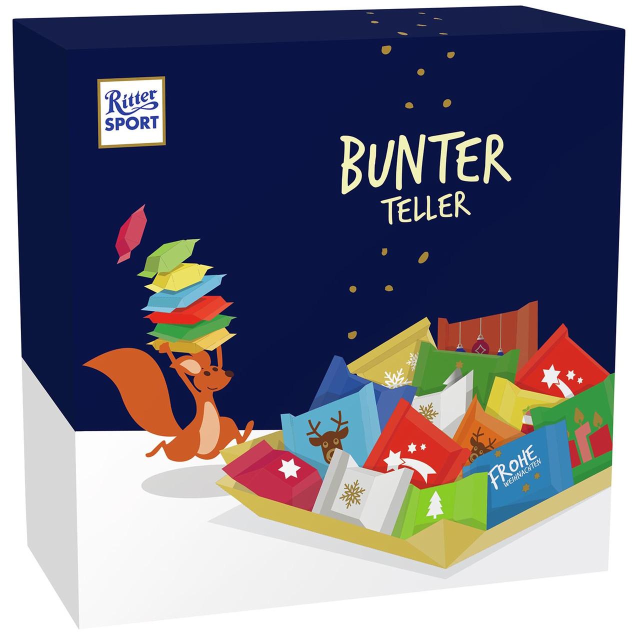 Набір міні-шоколадок Ritter Sport Bunter Teller 230 g