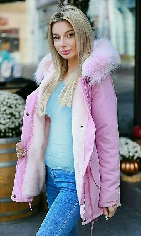 Куртка 856761/4 50/52 розовый