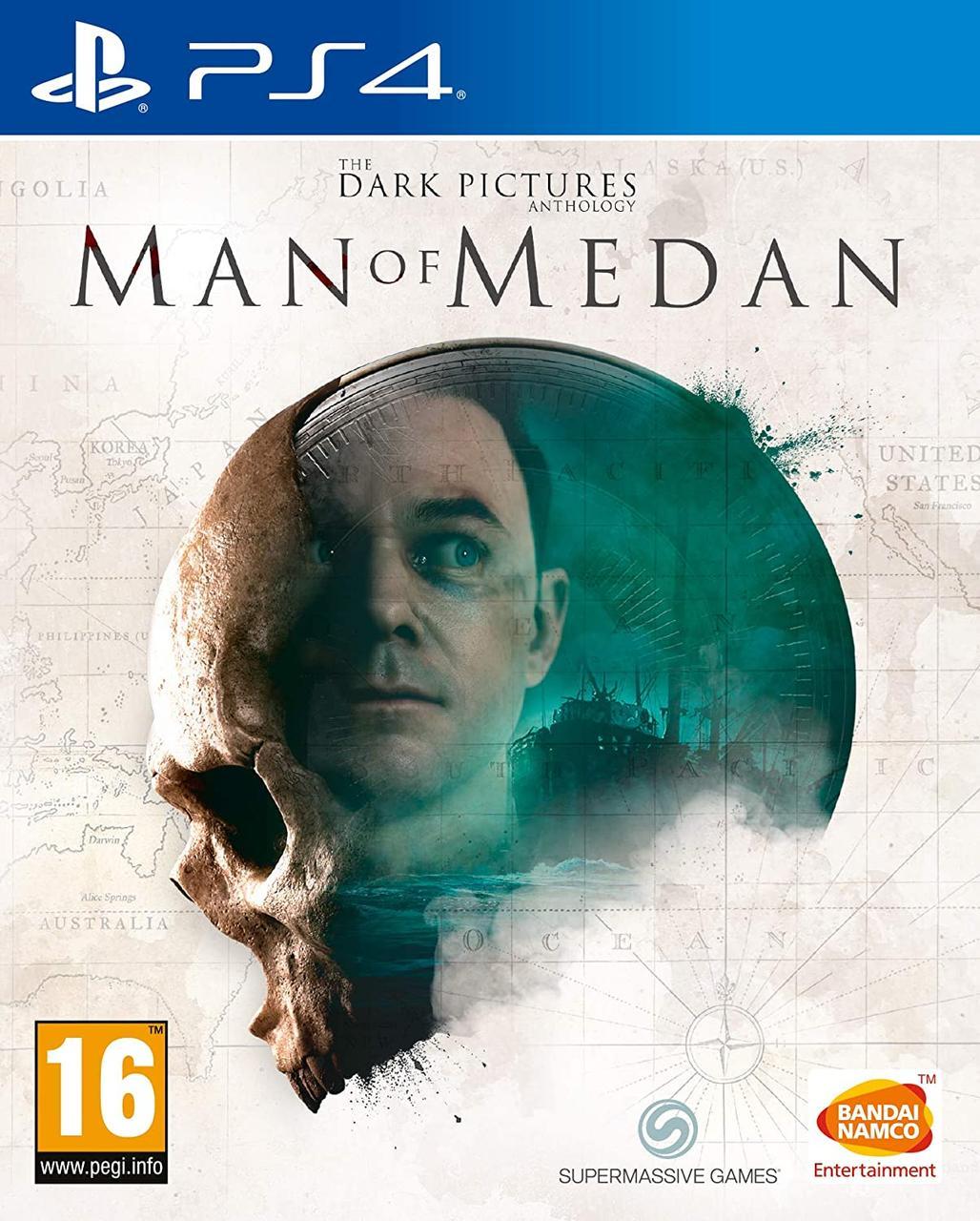 The Dark Pictures Anthology: Man Of Medan . Цифровой аккаунт PlayStation 4