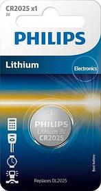 Батарейка PHILIPS CR2025