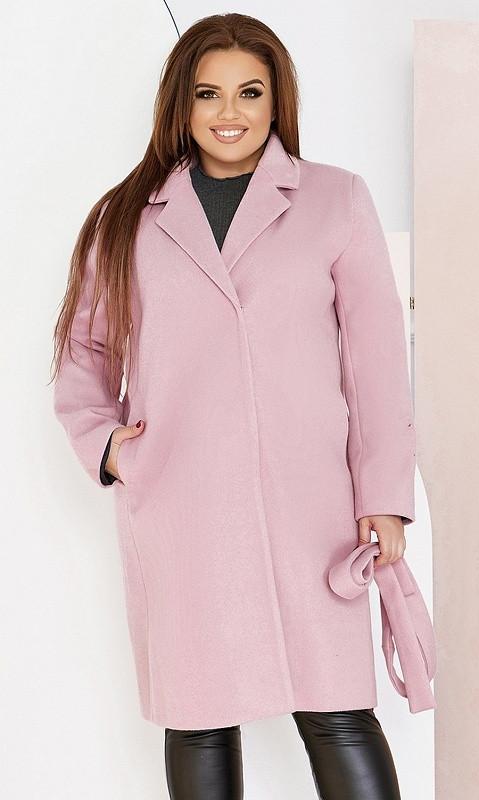 Пальто 858555/2 48/50 розовый