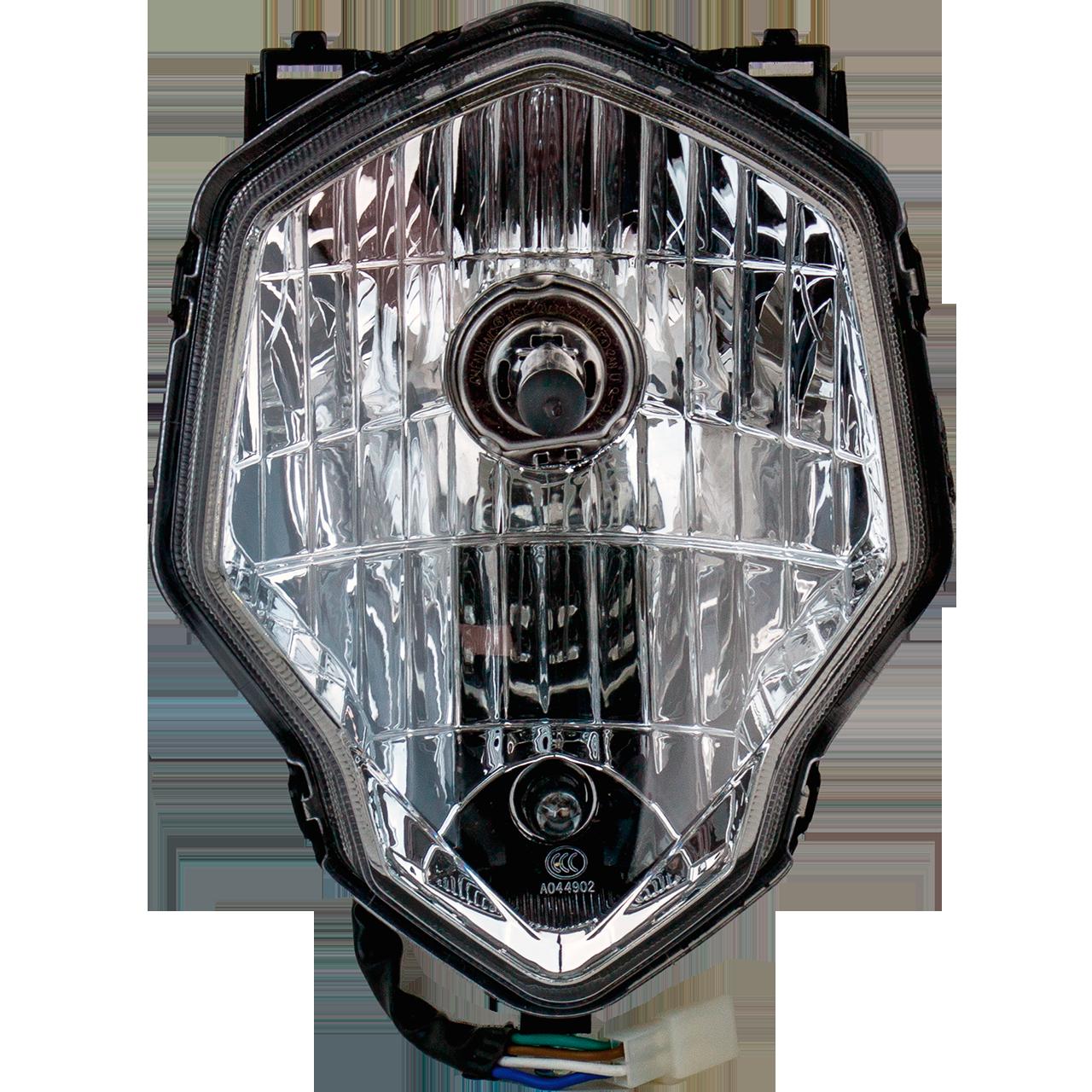 LX200GY-7A DS1 Фара передняя 12V 35/35W цоколь HS1 Loncin - 280350831-0001