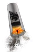 Торнадо - моторный набор для чистки дымохода твердотопливного котла