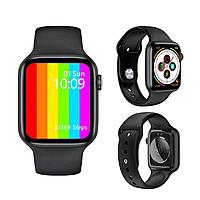 Смарт часы Lemfo W26 c термометром, пульсометром, тонометром, ЭКГ черные, белые, розовые, фото 1