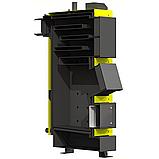 Сталевий твердопаливний котел тривалого горіння KRONAS UNIC NEW потужністю 27 кВт, фото 2