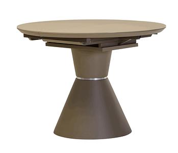 Стол раскладной 105/145 ТМL-651 матовый капучино TM Vetro Mebel