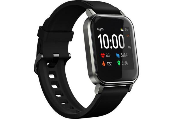 Умные часы Smart Watch Haylou LS02  Black акселерометр, счетчик калорий, шагомер, пульсометр