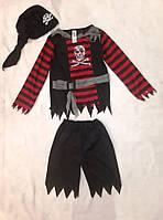 Костюм карнавальний Пірат розбійник 7-8 років б/у