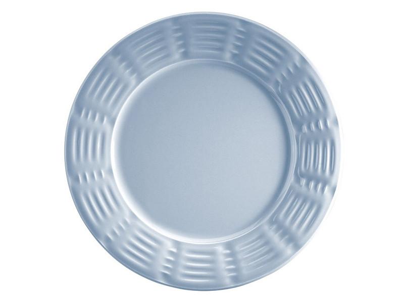 Голубая керамическая тарелка Руби Кутахия Турция 27см 942-026