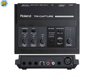 Аудиоинтерфейс Roland UA33 Tri-Capture USB 2х2