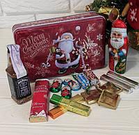 Сладкий новогодний подарок для взрослых с виски