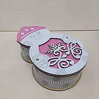 Коробка для конфет на Новый год и от Святого Николая