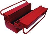 Ящик для инструмента металлический 7 секций Intertool  HT-5047