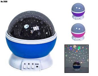 Нічник - проектор зоряного неба 3 режиму 1 783