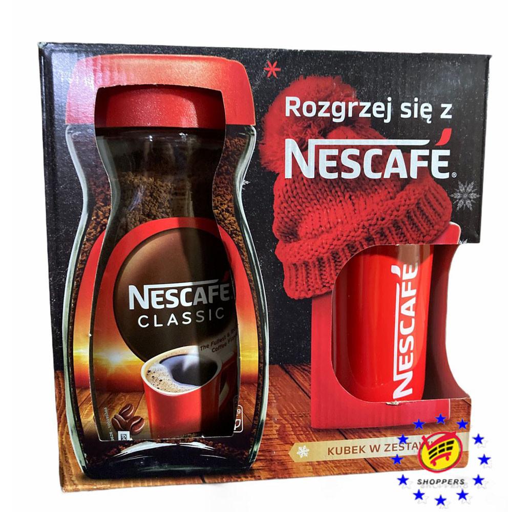 Подарочный набор кофе Nescafe Classic 200г + кружка