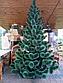 Сосна искусственная белый кончик 1.3 м Новогодняя сосна, искусственная сосна. Штучна ялинка сосна (ПВХ), фото 6