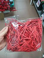 Наповнювач паперовий для коробок - Червоний (500 грамм)