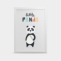 Постер в детскую Маленькая Панда 20*30 см