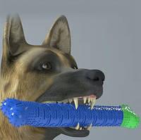 Резиновая игрушка для собак у форме кость