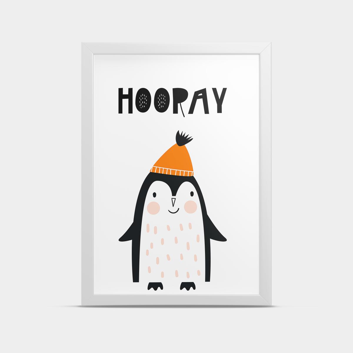 Постер Пингвин 20*30 см