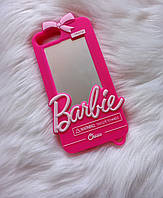 Чехол 3D для iPhone 6s plus Барби Barbie розовый, фото 1